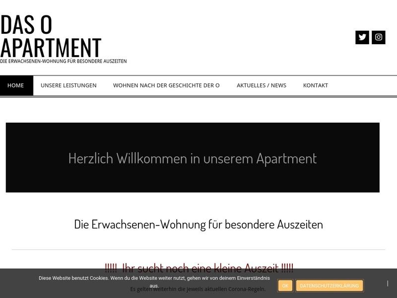 Screenshot von http://www.oapartment.net